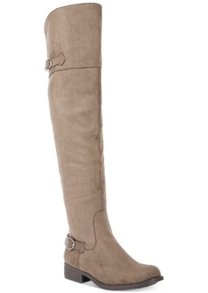 American Rag Adarra Wide-Calf Tall Buckle Boots, Created for Macy's Women's Shoes
