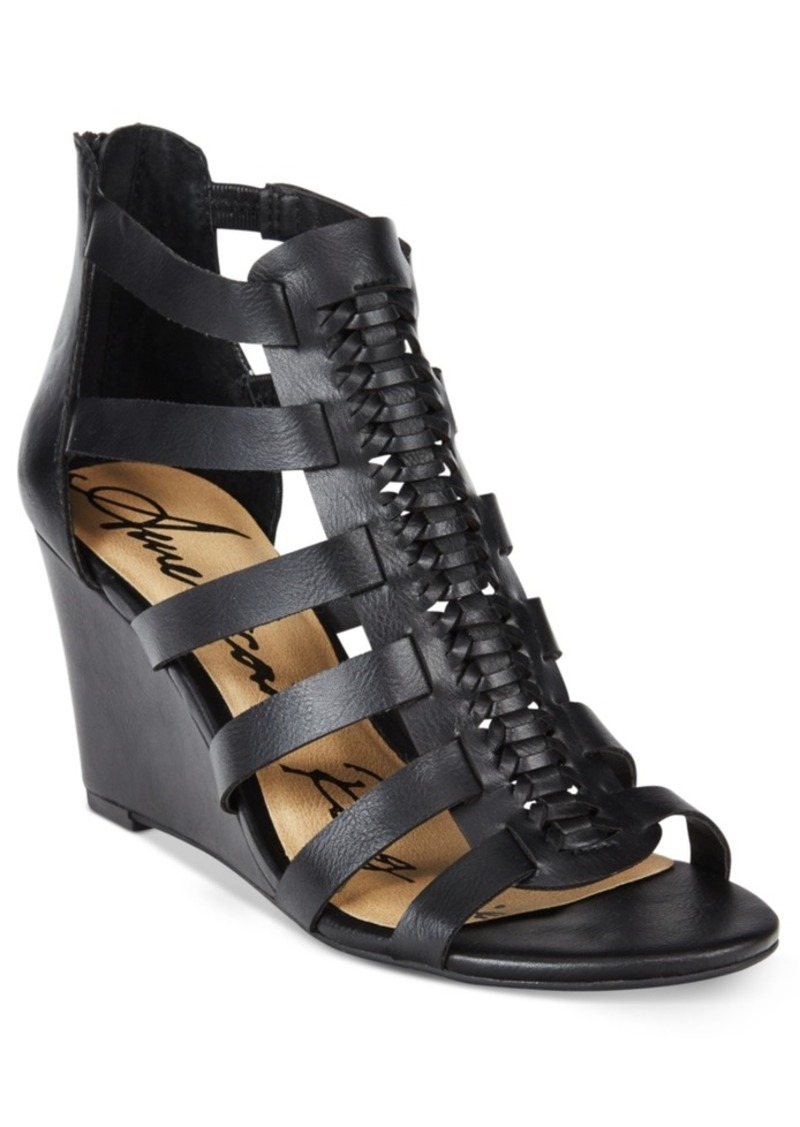 American Rag Amelia Woven Wedge Sandals, Created for Macy's Women's Shoes