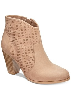 American Rag Aria Perforated Booties, Created for Macy's Women's Shoes