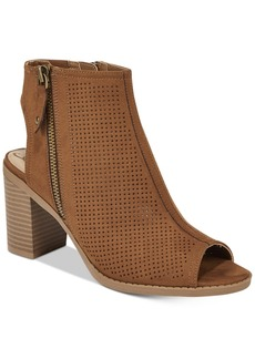 American Rag Chasity Perforated Block Heel Shooties, Created for Macy's Women's Shoes
