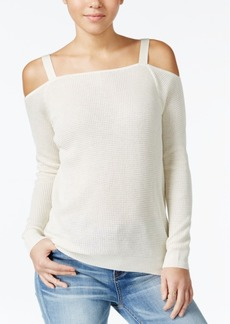 American Rag Cold-Shoulder Sweatshirt, Only at Macy's