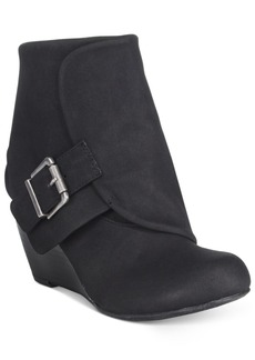 American Rag Coreene Cuffed Wedge Booties, Only at Macy's Women's Shoes