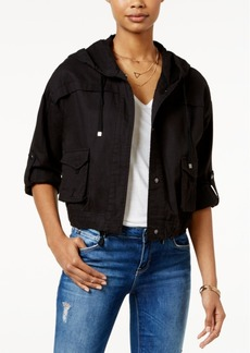 American Rag Cropped Cargo Jacket, Created for Macy's