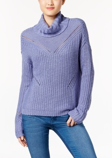 American Rag Cutout-Back Turtleneck Sweater, Created for Macy's