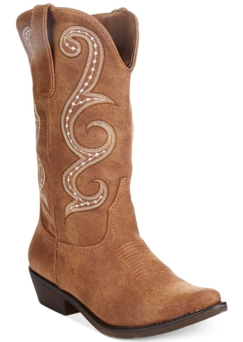 american rag american rag dawnn western boots created for
