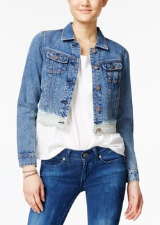 American Rag Dip-Dyed Denim Jacket, Only at Macy's