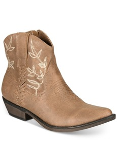 American Rag Dolly Cowboy Ankle Booties, Created for Macy's Women's Shoes