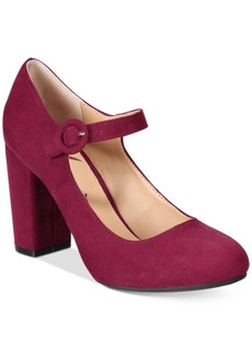 American Rag Eilena Block-Heel May Jane Pumps, Created for Macy's Women's Shoes