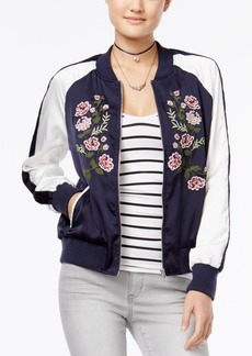 American Rag Embroidered Bomber Jacket, Only at Macy's