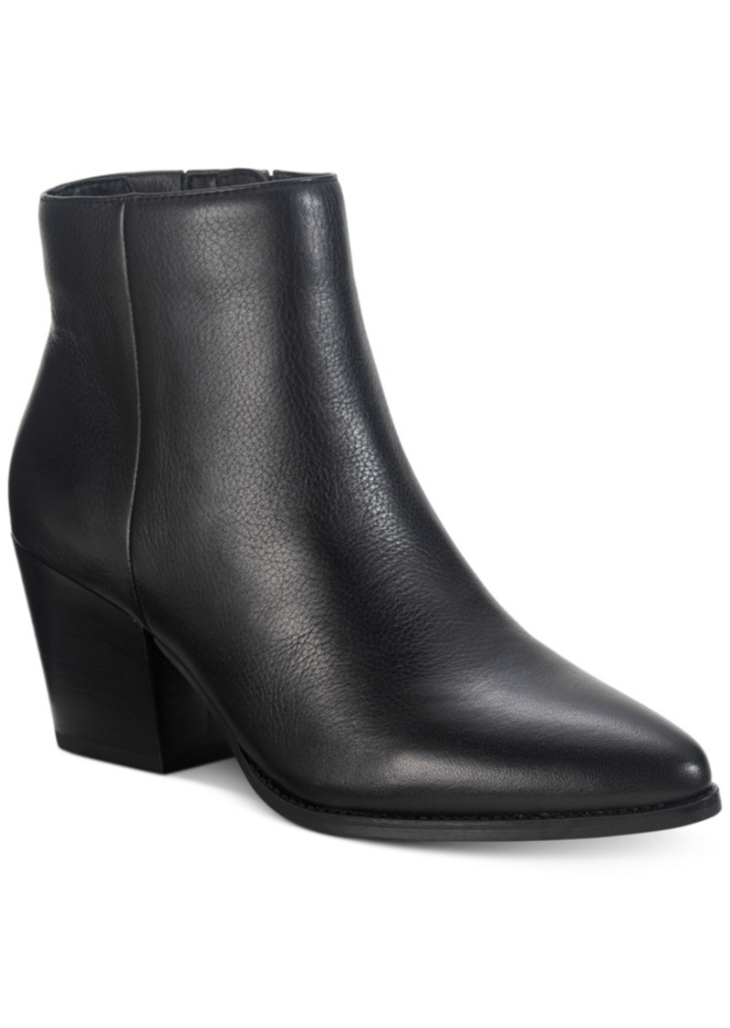 American Rag Eryn Leather Booties, Created for Macy's Women's Shoes