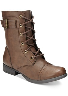 American Rag Faylln Combat Booties, Only at Macy's Women's Shoes