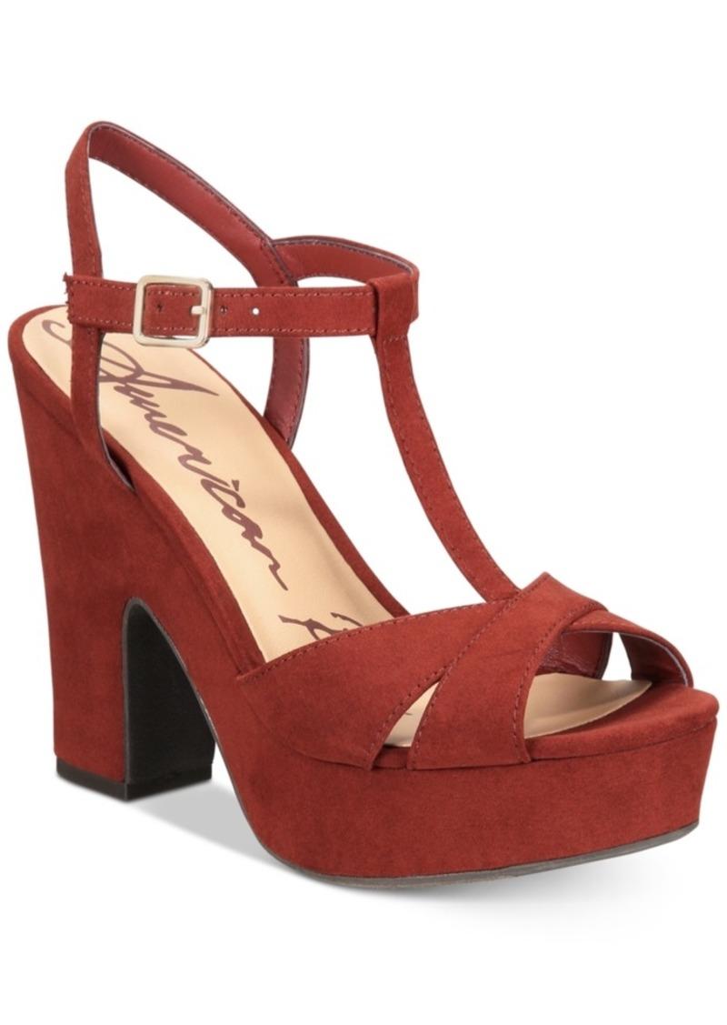 3513b80afe95 American Rag American Rag Jamie T-Strap Platform Dress Sandals ...