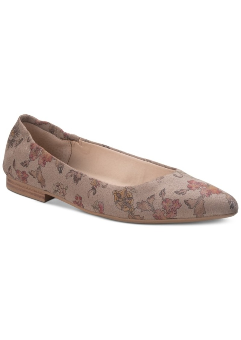 American Rag Jilly Leather Flats, Created for Macy's Women's Shoes