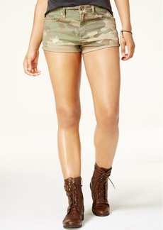 American Rag Juniors' Camo-Print Twill Cargo Shorts, Created for Macy's