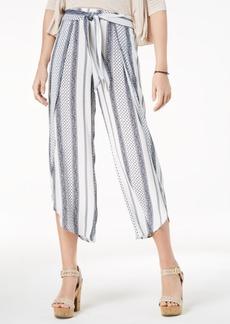 American Rag Juniors' Cropped Flyaway Pants, Created for Macy's