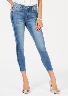 American Rag Juniors' Embellished-Stripe Skinny Jeans, Created for Macy's