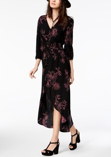 American Rag Juniors' Floral-Print High-Low Dress, Created for Macy's