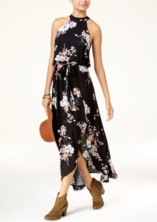 American Rag Juniors' Floral-Print Maxi Dress, Created for Macy's