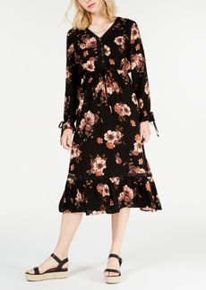 American Rag Juniors' Floral-Print Midi Dress, Created for Macy's