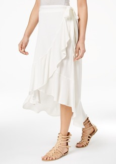 American Rag Juniors' High-Low Wrap Skirt, Created for Macy's