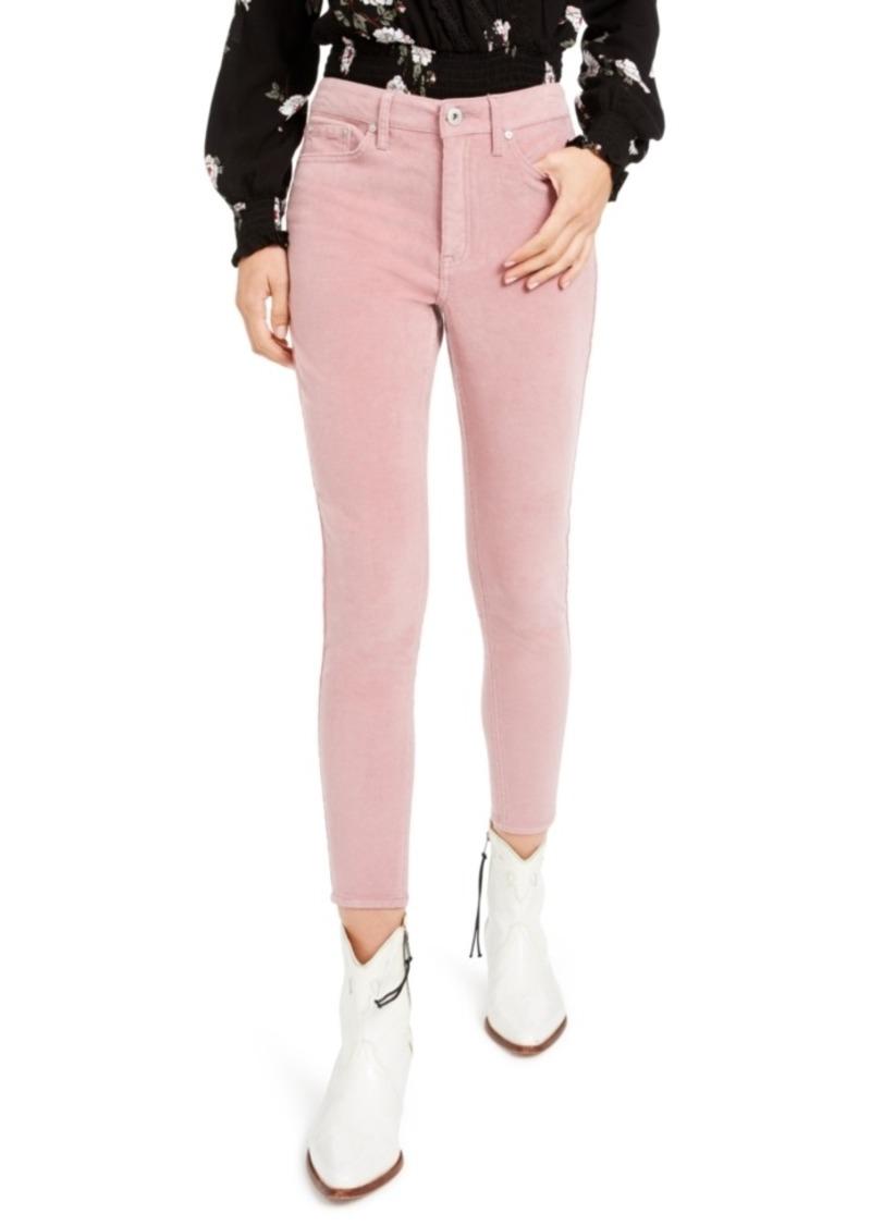 American Rag Juniors' High-Rise Corduroy Skinny Jeans, Created For Macy's