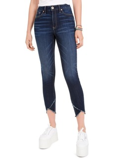 American Rag Juniors' High-Rise Raw-Edge Skinny Jeans, Created For Macy's