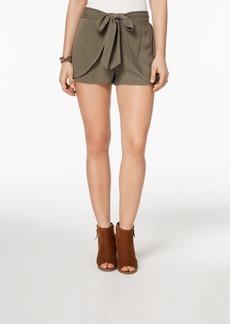 American Rag Juniors' Layered Tie-Waist Shorts, Created for Macy's