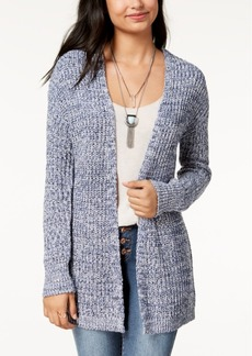 American Rag Juniors' Marled Lace-Up Cardigan, Created for Macy's