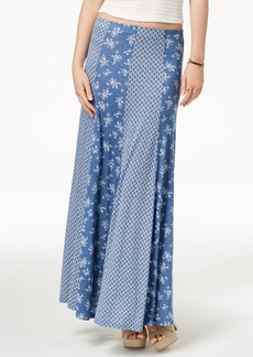 American Rag Juniors' Mixed-Print Maxi Skirt, Created for Macy's