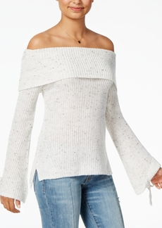 American Rag Juniors' Off-The-Shoulder Sweater, Created for Macy's