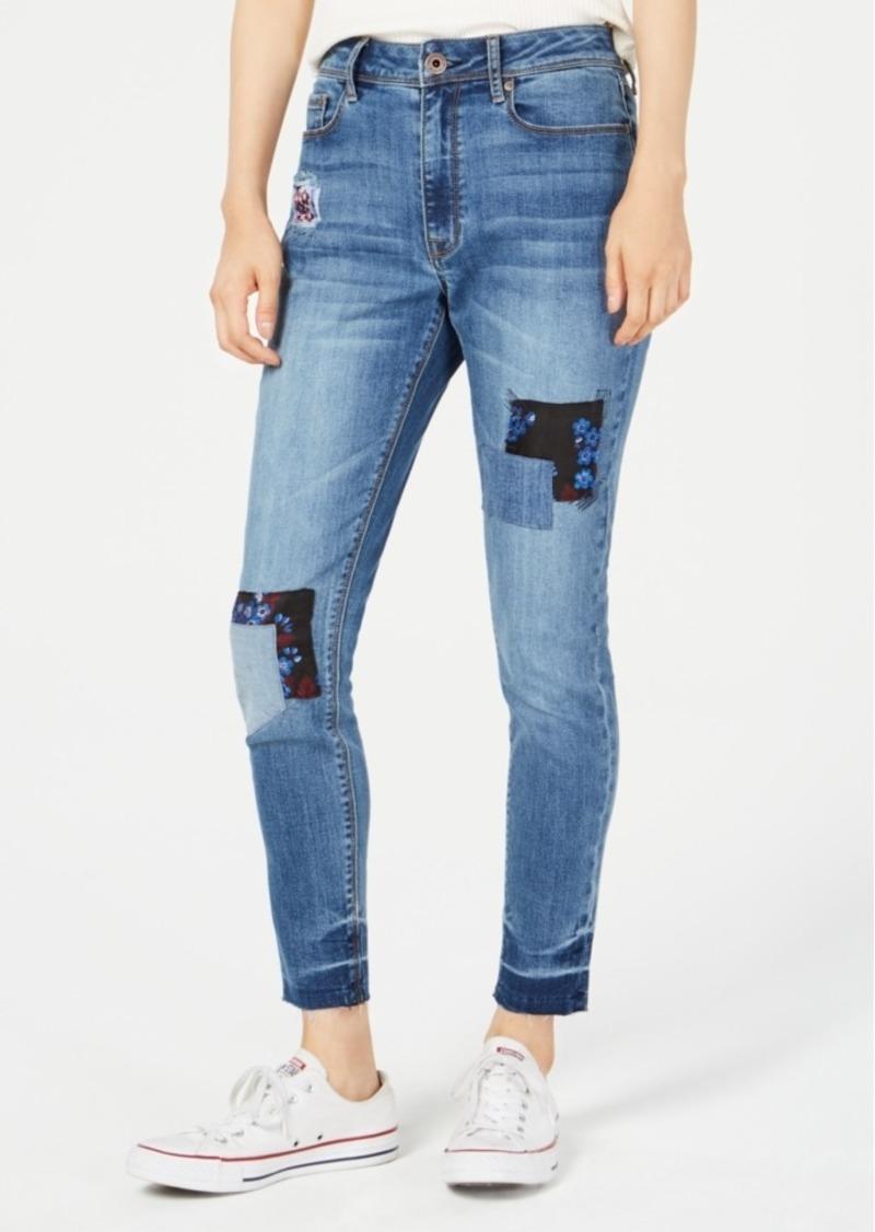 7fe080b922 American Rag American Rag Juniors' Patchwork Skinny Jeans, Created ...