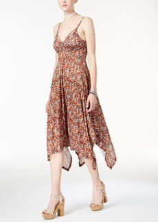 American Rag Juniors' Printed Handkerchief-Hem Dress, Only at Macy's