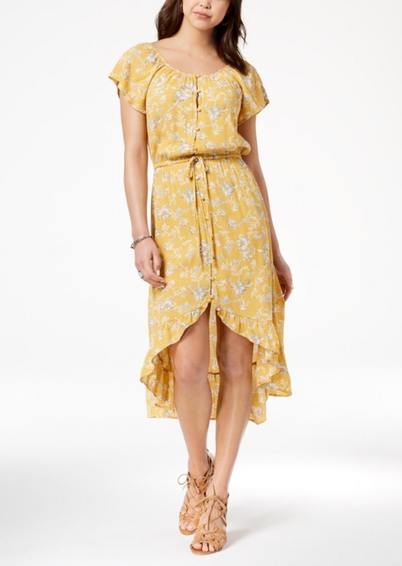 a61ca3e1f SALE! American Rag American Rag Juniors' Printed High-Low Dress ...