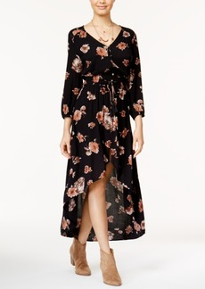 American Rag Juniors' Printed High-Low Dress, Only at Macy's