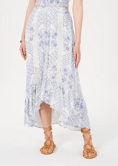 American Rag Juniors' Printed High-Low Maxi Skirt, Created for Macy's