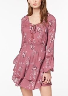 American Rag Juniors' Printed Peasant Dress, Created for Macy's