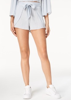 American Rag Juniors' Printed Tie-Front Soft Shorts, Created for Macy's