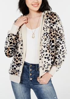 American Rag Juniors' Printed Zip-Up Jacket, Created for Macy's