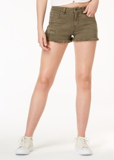 American Rag Juniors' Ripped Cutoff Denim Shorts, Created for Macy's