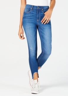 American Rag Juniors' Ripped High-Low Jeans, Created for Macy's