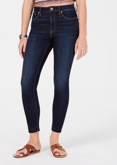 American Rag Juniors' Ripped Released-Hem Skinny Jeans, Created for Macy's