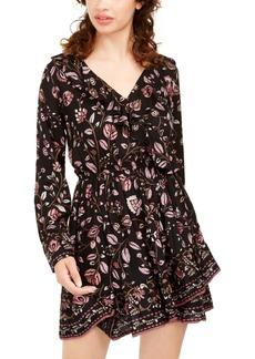 American Rag Juniors' Ruffle-Trimmed Dress, Created For Macy's
