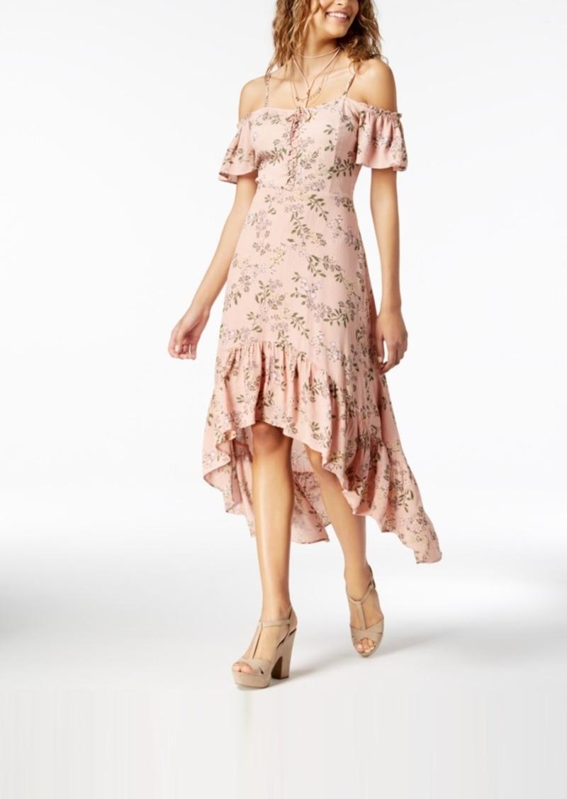 e6d45860a American Rag Juniors' Ruffled High-Low Maxi Dress, Created for Macy's