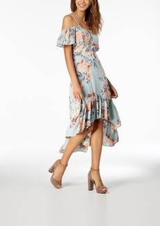 American Rag Juniors' Ruffled High-Low Maxi Dress, Created for Macy's