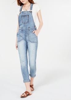 American Rag Juniors' Skinny Overalls, Created for Macy's