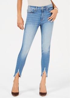 American Rag Juniors' Slit High-Rise Skinny Jeans, Created for Macy's