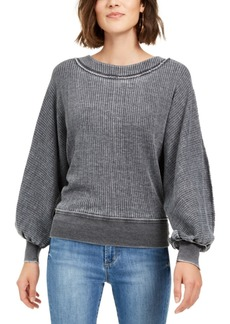 American Rag Juniors' Textured Dolman-Sleeve Top, Created For Macy's