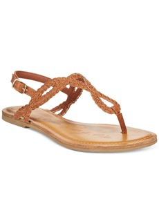 American Rag Keira Braided Flat Sandals, Only at Macy's Women's Shoes