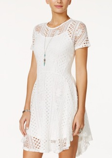 American Rag Lace Fit & Flare Dress, Only at Macy's