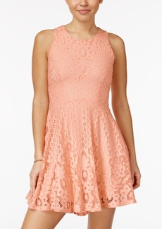 American Rag Lace High-Low Fit & Flare Dress, Only at Macy's